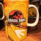 Universal Studios Exclusive Jurassic Park Tall Ceramic Mug New