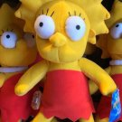 Universal Studios Exclusive The Simpson Lisa Simpson Plush Doll New with Tag