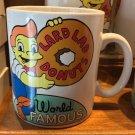 Universal Studios The Simpsons World Famous Lard Lad 30 oz. Ceramic Mug New