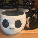 Disney Parks Nightmare Before Christmas Jack Skellington Face Soup Cup W/ Spoon