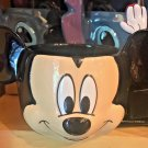 Disney Parks Exclusive Mickey Mouse Face Soup Cup W/ Spoon New