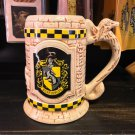 Universal Studios Wizarding World Harry Potter Hufflepuff Stein Coffe Mug New