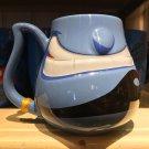 Disney Parks Genie Face Blue Ceramic Mug New