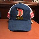 Disney Parks Disneyland Resort Big D 1955 Mesh Snapback Hat Cap New