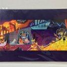 Disney WonderGround Seeking Adventures Of Pirates Postcard Singed by Joey Chou
