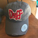 Universal Studios Exclusive The Simpson Duff Beer Adult Baseball Cap Hat New