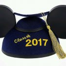 Disney Parks Graduation Mickey Ear Hat with Tassel Class of 2017 New with Tag
