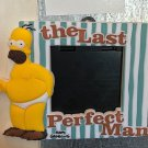 Universal Studios The Simpsons Homer The Last Perfect Man Photo Frame Magnet New