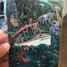Disney WonderGround Gallery Jungle Cruise Postcard by David Lozeau New