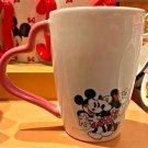 Disney Parks Mickey & Minnie Mouse Love Ceramic Mug New