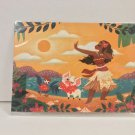 Disney WonderGround Moana Afternoon Dance Postcard by Griselda Sastrawina New