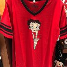 Universal Studios Exclusive Betty Boop Night Shirt Size X-Large New