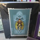Disney WonderGround Haunted Mansion Papel Picado Totem Print Francisco Herrera