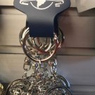 Universal Studios Exclusive Silver Finish Globe Keychain New