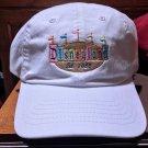 DISNEYLAND RESORT RETRO ENTRANCE BANNER WHITE BASEBALL HAT CAP