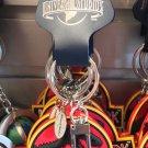 Universal Studios Exclusive Jurassic Park Keychain New