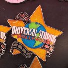 Universal Studios Hollywood Exclusive Orange Star Acrylic Metal Magnet New