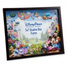 DISNEY PARKS MICKEY AND FRIENDS STORYBOOK SHADOWBOX PHOTO FRAME NEW