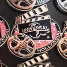 Universal Studios Hollywood Exclusive Round Magnet New