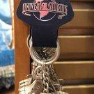 Universal Studios Exclusive Globe Metal Keychain New