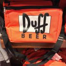 Universal Studios Exclusive The Simpson Duff Beer Lunch Box Cooler New