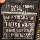 Universal Studios Hollywood Magnet Set Lights! Camera! Action! New