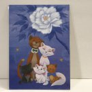 Disney WonderGround Peony and Aristocats Postcard by Martin Hsu New