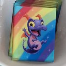 Disney WonderGround Figment Royal Purple Pigment Magnet by Kristin Tercek New