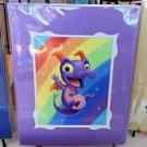Disney WonderGround Figment Royal Purple Pigment Print by Kristin Tercek New