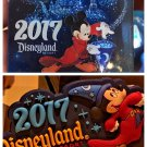 Disneyland Resort 2017 Sorcerer Mickey Mouse Acrylic 3-D and Rubber Magnet Set