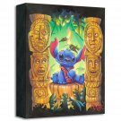Disney Parks Stitch Tiki Trouble Limited Edition Giclee by James C. Mulligan New