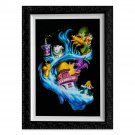 Disney Parks Madness Into Wonder Alice in Wonderland Framed LE Giclée by Noah