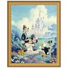 Disney Parks Mickey and Minnie Wedding Framed Giclee by Randy Souders New
