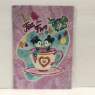 Disney WonderGround Mickey and Minnie Tea For Two Postcard by John Coulter New