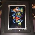 Disney Parks Little Mermaid Ariel's Innocence Deluxe Print by Noah New