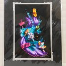 Disney WonderGround Alice in Wonderland Falling Into Wonder Print Signed by Noah