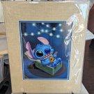 Disney WonderGround Gallery Stitch Serenade Deluxe Print by Kristin Tercek New