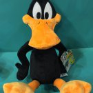"Six Flags Magic Mountain Looney Tunes Daffy Duck 18"" Plush New"