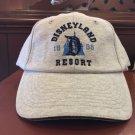 Disney Parks Disneyland Resort 1955 Gray Adult Baseball Hat Cap New