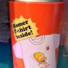 Universal Studios The Simpsons Home T-Shirt Inside Can Container Size X-Large