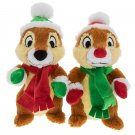 Disney Parks Christmas Chip & Dale Plush Doll Set New Limited Release