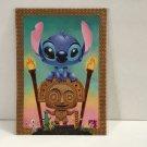 Disney WonderGround Gallery Stitch in Maui Mischief Postcard by Kristin Tercek