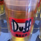 Universal Studios Exclusive The Simpson Duff Beer Tervis 160z. Cup New
