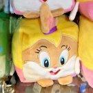 "Six Flags Magic Mountain Looney Tunes Lola Bunny 4"" Cube Plush New"