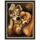 Disney Parks Lady and The Tramp Giclée by Darren Wilson New