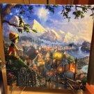 Disney Parks Pinocchio Canvas Canvas Print by Thomas Kinkade Studios New