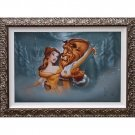 Disney Parks Beauty and The Beast Evening Waltz Framed LE Giclee by Noah New
