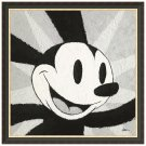 Disney Parks Oswald Black/Gold Frame Canvas Giclee by Randy Noble New