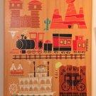 """Disney WonderGround Gallery """"Original"""" Frontierland Canvas Print Ben Burch"""