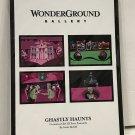 Disney WonderGround Ghastly Haunts Haunted Mansion Postcard Set by McBiff